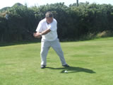 Ned O'Connor Tees Off
