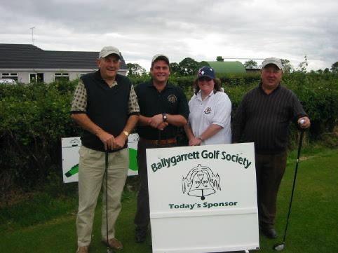 Captains Day 2002. Rob, Mick, Theresa and Ned