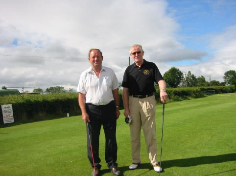 Captains Day 2002. Victor and Mike