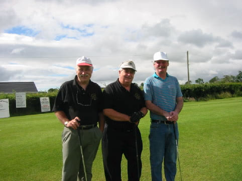 Captains Day 2002. Terry, Terry and Leo