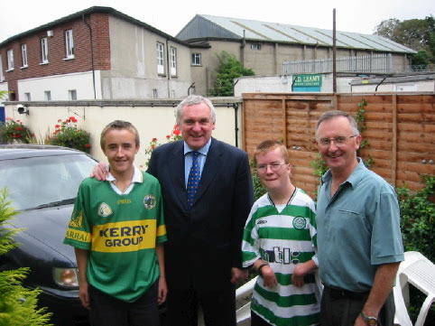 The Sugrue's Meet An Taoiseach, Bertie Ahern TD