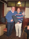 Dermot wins another prize on the back nine